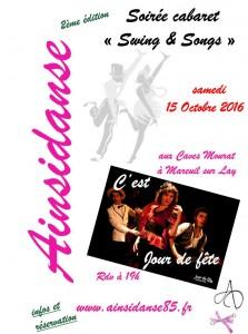 flyer soirée Cabaret jdf